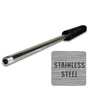 """60"""" Pressure Washer Spray Wand / Lance, Stainless Steel, Oval Molded Grip"""
