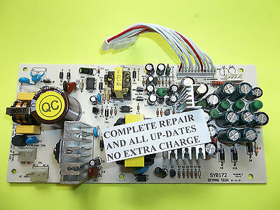 Sonicview 8000 HD Power Supply REPAIR & UpGrade SERVICE  Cooler-More Efficient