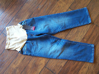 OH BABY by MOTHERHOOD WOMEN'S MATERNITY MEDIUM WASH JEANS *new with tags* Size M