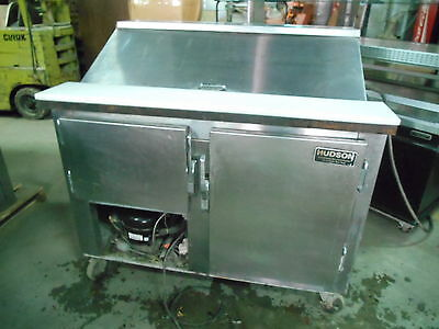 """Bain Marie Prep Table 48"""" With Casters"""