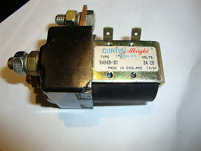 New Curtis/albright Sw84B-30 Dc Contactor