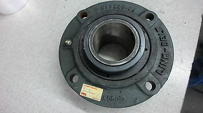 "Link-Belt 4 Bolt Cartridge Bearing Fcb22444H, 2-3/4"" Bore"