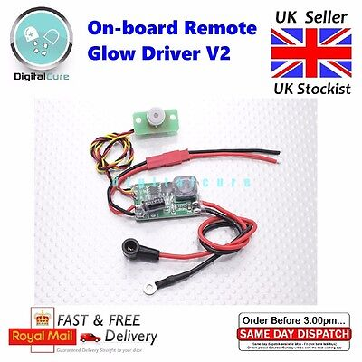 On-board Remote Glow Driver V2 Plug Starter Igniter - RC Plane Heli Car Engine