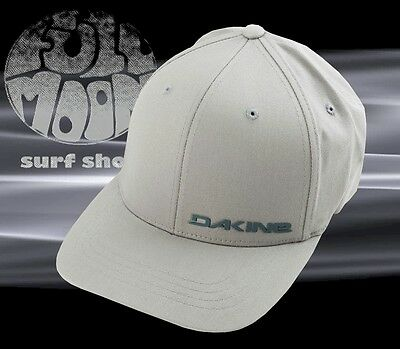 35de40dd522 NEW DAKINE MEN S Silicone Rail Gray Flexfit Cap Hat -  22.95