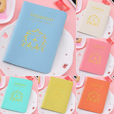 wow Pinkycolor Travel Utility Passport Cover Holder ID Card Case Protector Skin