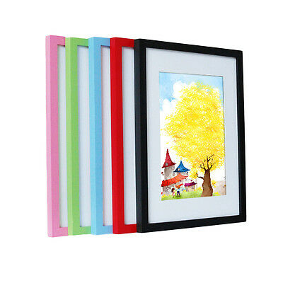 Home wall decoration large wooden picture frames photo frames A3 A4 16 inch