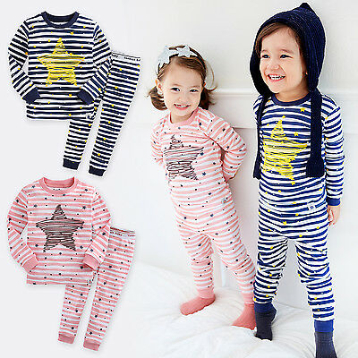 cd9858ab VAENAIT BABY TODDLER Kids Boys Girls Clothes Sleepwear Pajama Set