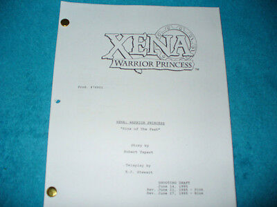 Xena Warrior Princess Tv Pilot Script - Lucy Lawless