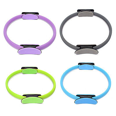 Pilates Ring Circle Resistance Exercise Workout Fitness Yoga Ring Dual Band SYH