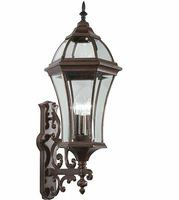 outdoor porch patio wall exterior sconce lighting light lamp fixture bronze new