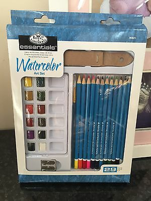 Royal Langnickle Watercolour Pencil Set