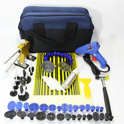 Paintless PDR Dent Puller Lifter Kit-Repair Hammer-Removal Car Damage Hail Tools