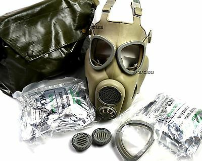 Czech Czechoslovakian army military Gas Mask M-10. New full set. CZ gas mask M10
