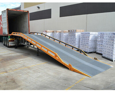 Troden Truck Container Load / Unloading Yard Ramp - Shipping Aust Wide