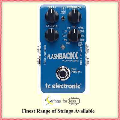 TC Electronic FlashBack Delay and Looper Guitar Delay Effects Pedal