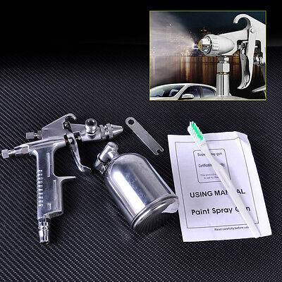 For Paint Touch Up Alloys: Mini Air Brush Spray Gun 0.5mm Nozzle Gravity Feed
