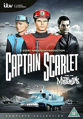 Captain Scarlet And The Mysterons Complete Series 1 234 5 Dvd Collection Box Set