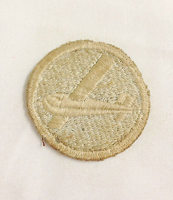 WW2 RARE Early United States Airborne Glider Troops Cap Badge Patch 2