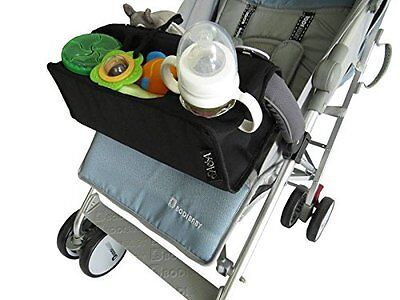 Stroller organizer, Universal Fit, with Insulated Cup and Mobile Holder