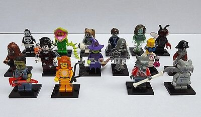 LEGO Minifigures Series 14 Halloween Monsters 71010 Witch Zombie Gargoyle & More