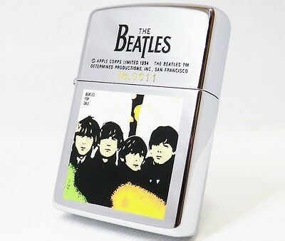 BEATLES FOR SALE zippo #0611 Unfired 1993 Rare