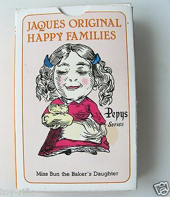 Jaques Vintage Style Happy Families Game By Gibsons Games – New & Sealed!