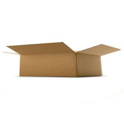 Cardboard Postage Boxes Single Wall Postal Mailing Small Parcel Box 5 x 5 x 2.5""