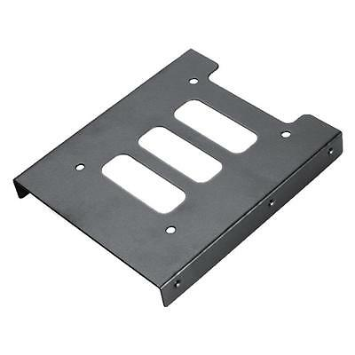 """2.5"""" To 3.5"""" SSD HDD Mounting Adapter Kit Bracket Hard Drive Holder For PC Case"""