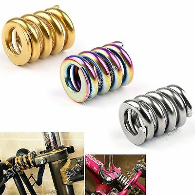Titanium/Ti Rear Coil Spring/Suspension Shock /Shox & Damper For Brompton