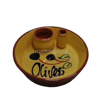 Ceramic Olive Bowl / Dish  Olives / Nuts Yellow (Cm037)