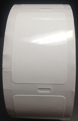 Static Cling Oil Change Thermal Labels/Blank • #1827 •500 labels per Roll(G17)