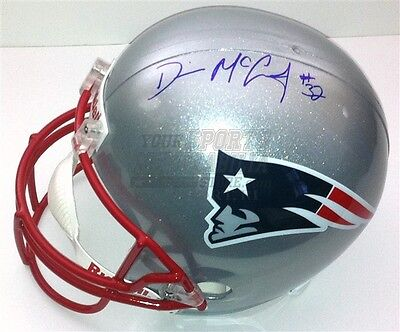 Devin McCourty New England Patriots Signed Autographed Replica Full Size Helmet