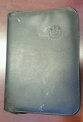 2000 BMW Leather Case - Owners Manual