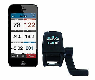 Wahoo Fitness Blue Speed & Cadence Power Sensor iPhone, Android, Bike Computers