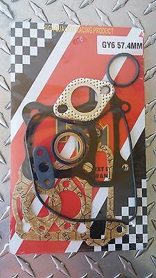 GY6 Scooter 150cc OEM Top Gasket Set *FIT ANY GY6 150CC OR SIMILAR ENGINE*