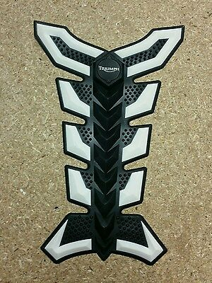 3D Rubber Motorbike Motorcycle Tank Pad Protector Triumph