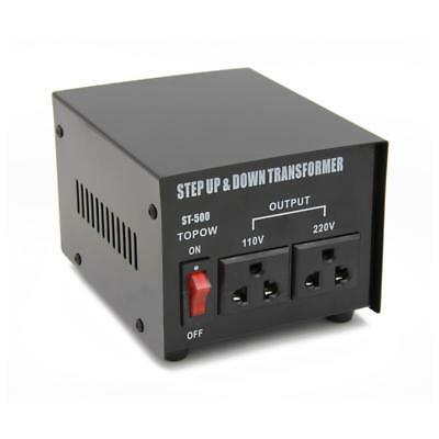 500 Step Up and Down Electrical Power Voltage Converter Transformer Heavy Duty