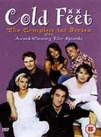 COLD FEET COMPLETE SERIES 1 DVD Seasons All Episodes Brand New and Sealed UK
