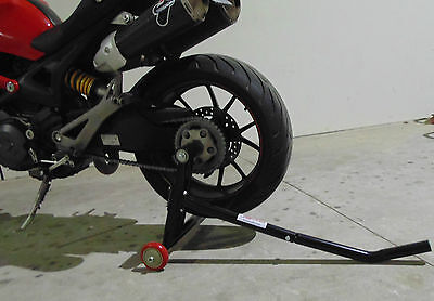 Triumph Rear Stand, Single Swingarm Stand, Paddock Stand, One Arm Stand