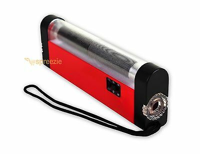 Portable Handheld UV Light Torch Blacklight Counterfeit Bill Money Detector Red