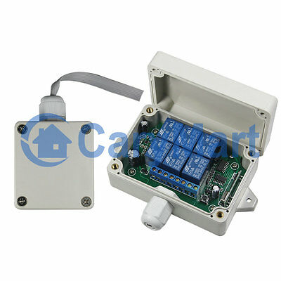 6 Channels Signal / Light Wireless Sync System Receiver & Controller