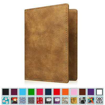 Passport Boarding Passes Holder Travel Wallet RFID Blocking Cards Case Cover