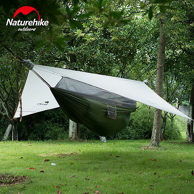 Portable Camping Hammock With Mosquito Bed Nets Single Person Hammock Swing