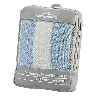 Kathmandu Camping Travel Microfibre Extra Large Towel quickDry NEW