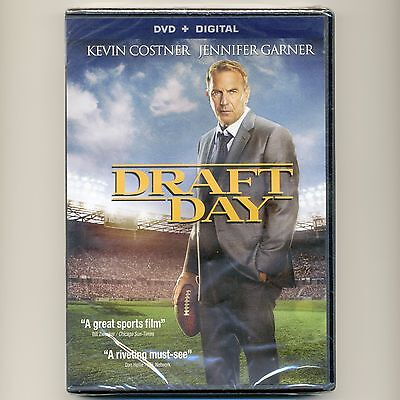 Draft Day 2014 PG-13 NFL football sports movie, new DVD Costner Cleveland Browns
