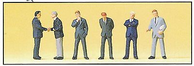 Business people Preiser 75032 Scale 1:120 TT Gauge (12 mm) Figurines