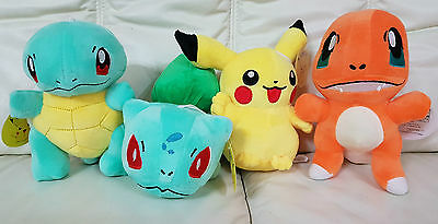 Pokemon Go Charmander Squirtle Bulbasaur Pikachu 20cm Plush Toy Stuffed Toy