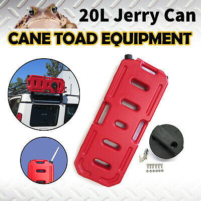 20L Jerry Can Fuel Container With Holder Heavy Duty Spare Container