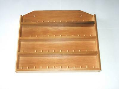 48pc Wooden Thimble Display Rack with Sides ( Pine )( huge range - see listing )