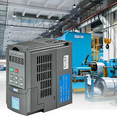 1,5KW Frequenzumrichter Variable Frequency Driver Inverter 3 Phase VFD AVR Speed